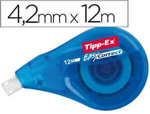 CORRECTOR TIPP-EX EASY LATERAL 4,2 MM X 12 M