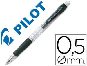 PORTAMINAS PILOT SUPERGRIP 0,5 MM SUJECION DE CAUCHO NEGRO