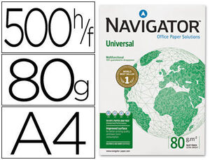 PAPEL NAVIGATOR 500 HOJAS 80GR