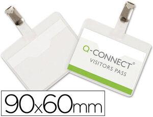 IDENTIFICADOR PINÇA Q-CONNECT 60X90 MM