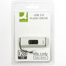 MEMORIA USB Q CONNECT FLASH 128 GB 3,0