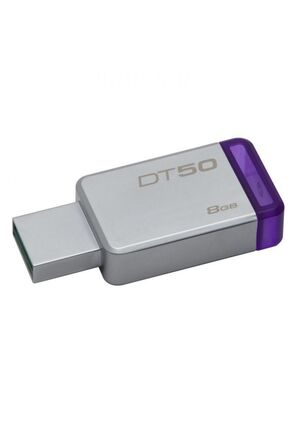 MEMORIA KINGSTON 8 GB DATA TRAVELER METAL/MORADO