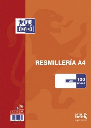 RES OXFSCHOOL A4 100H 90G LISO TB