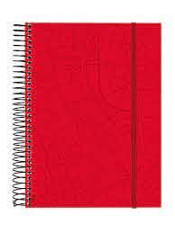 AGENDA 18M ESPIRAL TRAVEL ROJO 10 DP 20-21