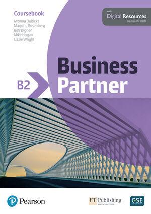 BUSINESS PARTNER B2 COURSEBOOK AND BASIC MYENGLISHLAB PACK