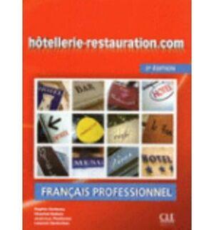 HÔTELLERIE-RESTAURATION.COM - 2E ÉDITION - LIVRE + CD AUDIO+GUIDE EONOLOGIQUE ET