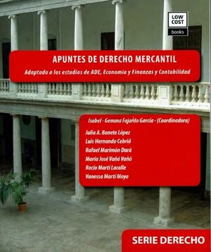 APUNTES DE DERECHO MERCANTIL