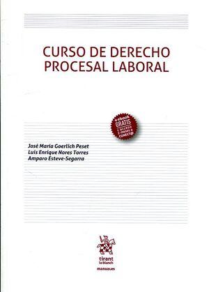 CURSO DE DERECHO PROCESAL LABORAL