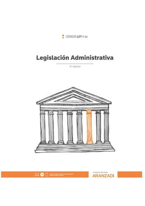 LEGISLACIÓN ADMINISTRATIVA (LEYITBE) 4ª ED. 2020