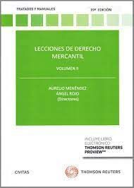 LECCIONES DE DERECHO MERCANTIL VOL. II
