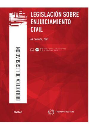 LEGISLACION SOBRE ENJUICIAMIENTO CIVIL 2021