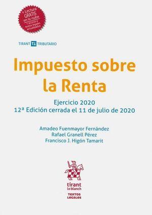 IMPUESTO SOBRE LA RENTA. EJERCICIO 2020