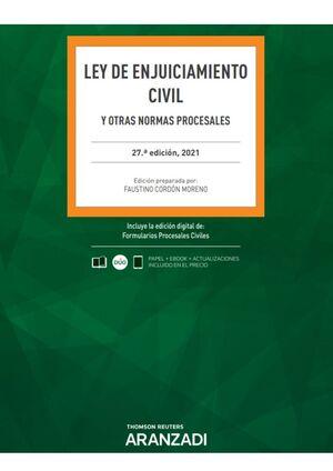 LEY DE ENJUICIAMIENTO CIVIL 2021