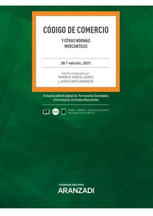 CODIGO DE COMERCIO Y OTRAS NORMAS MERCANTILES 2021