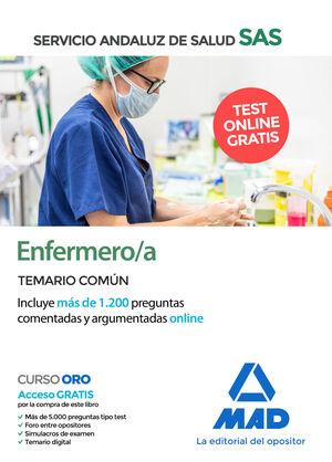 ENFERMERO/A DEL SERVICIO ANDALUZ DE SALUD. TEMARIO COMÚN