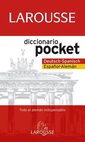 DICCIONARIO POCKET ESPAÑOL-ALEMÁN / DEUTSH-SPANISCH