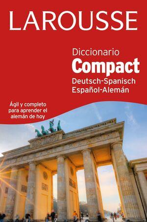 DICCIONARIO COMPACT ESPAÑOL-ALEMÁN / DEUTSH-SPANISCH