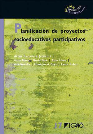 PLANIFICACIÓN DE PROYECTOS SOCIOEDUCATIVOS PARTICIPATIVOS