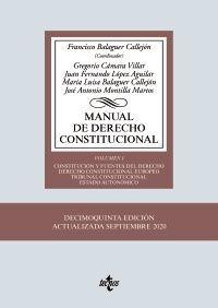 MANUAL DE DERECHO CONSTITUCIONAL VOL. I