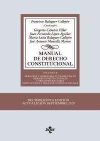 MANUAL DE DERECHO CONSTITUCIONAL VOL. II