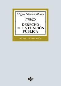 DERECHO DE LA FUNCIÓN PÚBLICA