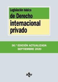 LEGISLACIÓN BÁSICA DE DERECHO INTERNACIONAL PRIVADO 20