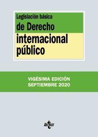 LEGISLACIÓN BÁSICA DE DERECHO INTERNACIONAL PÚBLICO 20