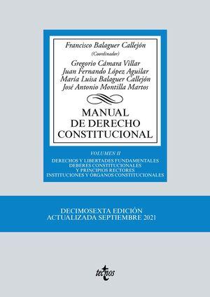 MANUAL DE DERECHO CONSTITUCIONAL VOL.II