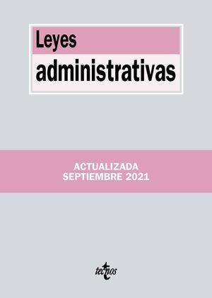 LEYES ADMINISTRATIVAS 2021