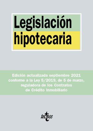 LEGISLACIÓN HIPOTECARIA 2021