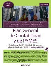 PLAN GENERAL DE CONTABILIDAD Y DE PYMES 20