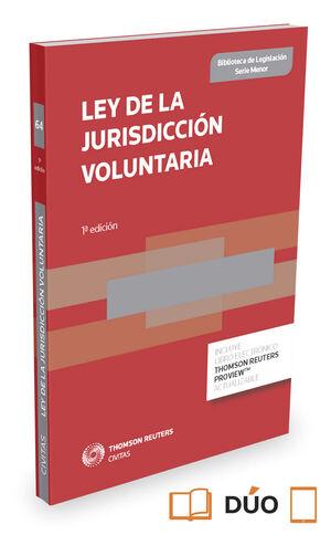 LEY DE LA JURISDICCIÓN VOLUNTARIA (PAPEL + E-BOOK)