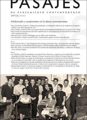 INTELECTUALES Y COMPROMISOS EN LA ÉPOCA CONTEMPORÁNEA