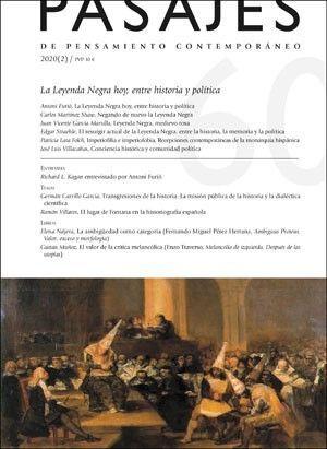 LA LEYENDA NEGRA HOY, ENTRE HISTORIA Y POLÍTICA