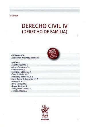 DERECHO CIVIL IV (DERECHO DE FAMILIA) 2ª EDICIÓN 2016