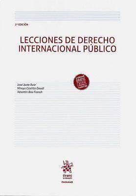 LECCIONES DE DERECHO INTERNACIONAL PÚBLICO 3ª EDICIÓN 2018