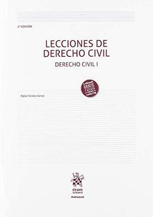 LECCIONES DE DERECHO CIVIL 2ª EDICIÓN
