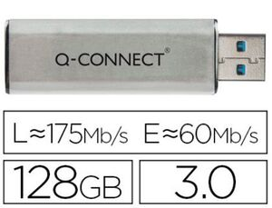 MEMORIA Q-CONNECT 128 GB USB FLASH 3.0