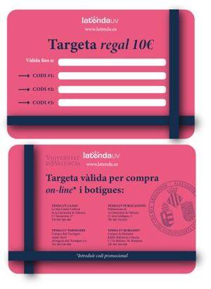 TARJETA REGALO ESCUDO UV 10€