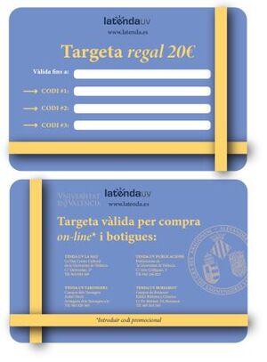 TARGETA REGAL ESCUT 20€