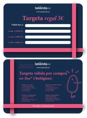 TARGETA REGAL XANO 5€