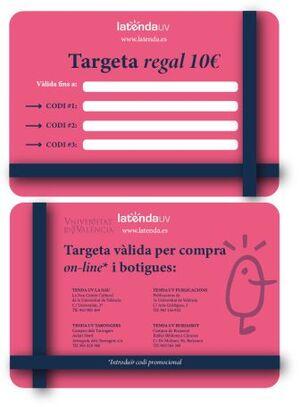 TARJETA REGALO XANO 10€