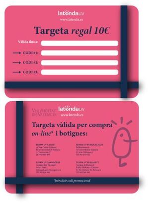 TARGETA REGAL XANO 10€