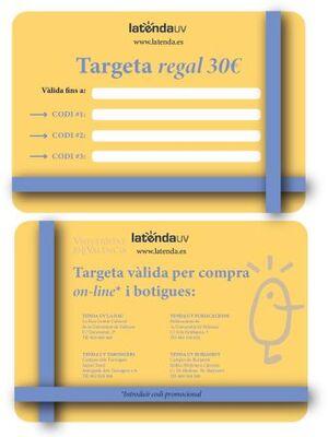 TARJETA REGALO XANO 30€