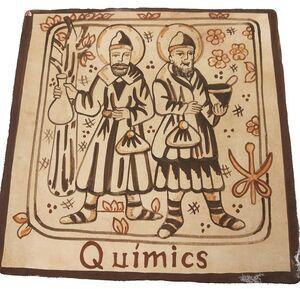 SOCARRAT QUIMICS 15X15 CM